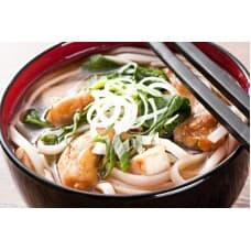 Мисо-суп с курицей и грибами