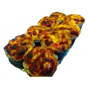 Запеченный ролл «3 сыра»