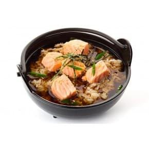 Острый мисо-суп с лососем