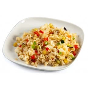 Рис по-японски с овощами