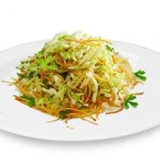 Салат «Витаминный» из свежей капусты с морковью