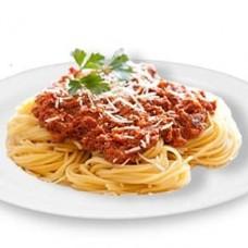 Спагетти «Болоньезе» c мясным соусом с томатами