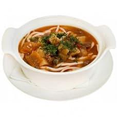 Наваристый суп с лапшой