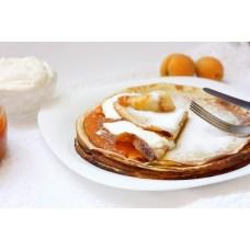 Блинчики с абрикосовым джемом