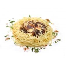 Спагетти «Обед лесника»