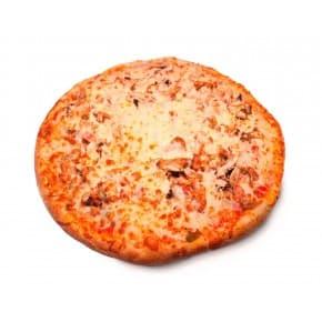 Пицца «Мясная с лесными грибами»