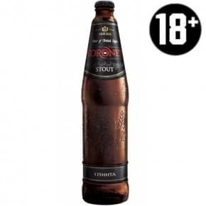 Пиво «Koronet Stout» тёмное 0.5