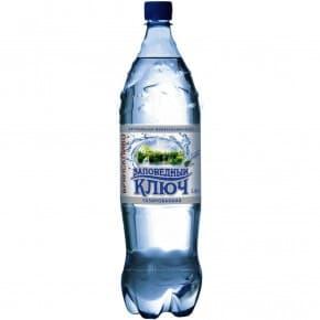 Минеральная вода «Заповедный Ключ» газированная 1.5