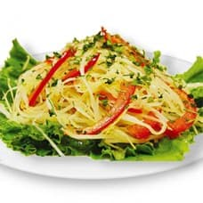 Салат из свежей капусты с перцем болгарским и зеленью (капуст, морковь, перец болгарский)