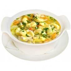 Суп «По-деревенски» с клецками