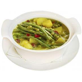Суп куриный с картофелем и деликатесными овощами