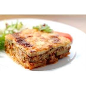 Запеканка из баклажан с мясом